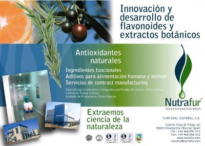 Nutrafur: Antioxidantes Naturales, Flavonoides, Extractos Botánicos